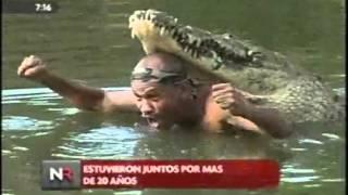 Download Friendship Between A Wild Croc And A Man (~READ DESCRIPTION~) Video