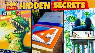 Download Top 10 Hidden Secrets of Toy Story Land - Pixar Easter Eggs Video