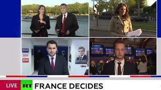 Download WATCH LIVE RT's special coverage: First round of French 2017 presidential elections Video
