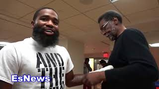 Download Adrien Broner What He Told 50 Cent Today EsNews Boxing Video