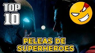 Download TOP 10 Peleas de Superhéroes en Cine   #Mefe Video
