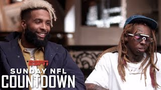 Download Odell Beckham Jr. and Lil Wayne open up on their careers, achievements and relationship | NFL Video