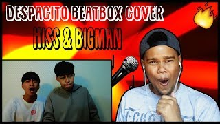 Download Hiss & BigMan - Despacito Beatbox Cover    REACTION!!!    Video