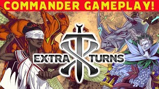 Download Extra Turns #02 w/ DJ, Kyle Hill and Ashlen Rose l Commander Gameplay l Magic: The Gathering EDH Video