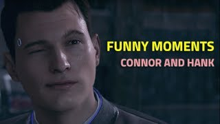 Download Detroit Become Human - Funny Moments with Connor and Hank Video