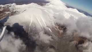 Download Tongariro Eruption Helicopter Flight Video Video