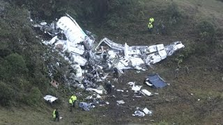 Download Plane carrying Brazilian club team crashes Video