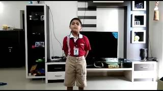 Download Reyan (6 Years) got First Prize in Hindi Poetry (Kavita) Competition in Class 1, Vibgyor High Video