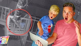Download Haunted Break In At Our New Studio!! (CAUGHT ON CAMERA!) Video