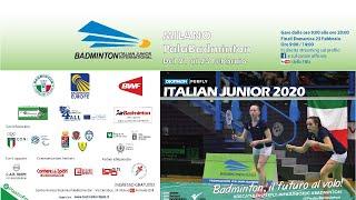 Download DECATHLON PERFLY Italian Junior 2020 - 22 feb Court 1 Video