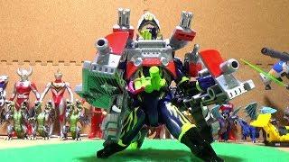 Download #4 仮面ライダースナイプ   Kamen Rider Japanese Toys Video