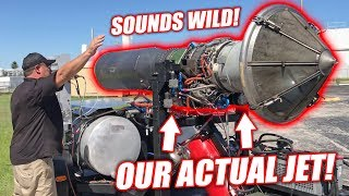 Download Test Firing Project Mullet's ACTUAL Jet Engine! (Spooling Up to 90% Throttle) Video