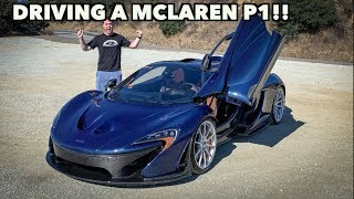 Download I FINALLY DRIVE A MCLAREN P1 - MY NEW $2 MILLION DREAM CAR! Video