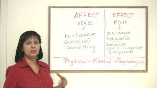 Download Confused Words - EFFECT & AFFECT Video