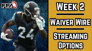 Download 2018 Fantasy Football | Week 2 | Waiver Wire | Streaming Options Video