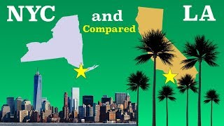 Download New York City and Los Angeles Compared Video
