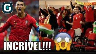 Download Olha só a REAÇÃO DA TORCIDA com os gols de Cristiano Ronaldo - Gazeta Esportiva (15/06/18) Video