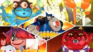 Download Yo-kai Watch Blasters - All Cutscenes (Bosses) Video