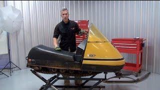 Download Ski doo Elan Complete restoration series! Episode #1, the tear down. PowerModz! Video