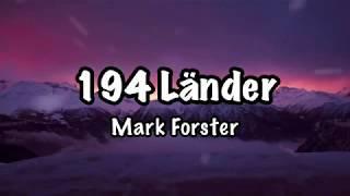 Download Mark Forster - 194 Länder (Lyrics) Video
