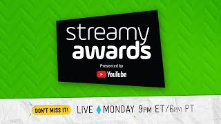 Download 8th Annual Streamy Awards presented by YouTube Video