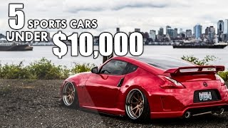 Download The TOP 5 BEST Used Sports Cars UNDER $10,000 Video