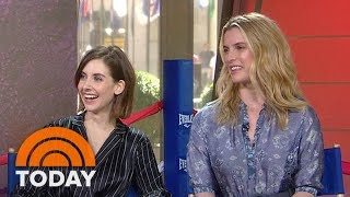 Download Alison Brie, Betty Gilpin: We Trained For A Month With A Pro-Wrestler For 'GLOW' | TODAY Video