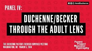 Download Panel IV: Duchenne Becker Through the Adult Lens - The Duchenne Patient-Focused Compass Meeting Video