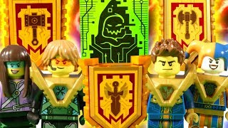 Download LEGO NEXO KNIGHTS THE MOVIE - PART 7 - QUEST FOR THE MERLOK POWERS Video