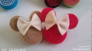 Download DIY mickey mouse brooch - tutorial bros mickey mouse by DHILA BABUD Video