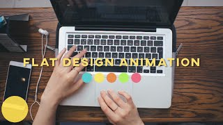 Download How I make flat design animations Video