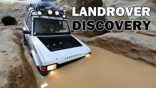 Download LANDROVER DISCOVERY 4X4 OFF Road Adventure MUD, WATER, CRAWLER SCALE RC CAR Video