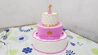 Download Como decorar bolo fake de papelão com e.v.a Video