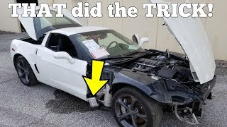 Download THIS is why the Cheap Salvage Corvette Won't Start! Easy $100 Fix! Video