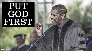 Download Put God First - Denzel Washington Motivational & Inspiring Commencement Speech Video