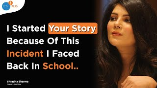 Download How To Succeed As A WOMAN Entreprenuer? | Shradha Sharma | YourStory Founder Story Video