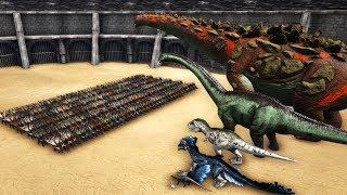 Download 300 PASSIVE Kentrosaurus VS ARK Dinosaurs || Cantex Video