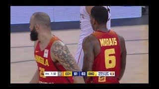 Download Carlos Morais: Highlights - Angola vs Egypt | FIBA Basketball World Cup 2019 - African Qualifiers Video