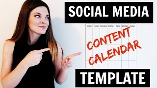 Download Content Calendar for Social Media Marketing Video