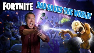 Download DAD SAVES THE WORLD!!! Fortnite Save the World Gameplay! Video