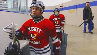Download SLED HOCKEY - MIGHTY BARONS INSPIRE US!!! Video