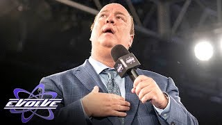 Download Paul Heyman makes a surprise appearance at EVOLVE show (WWE Network Exclusive) Video