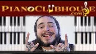 Download 🎹How to play ″CIRCLES″ by Post Malone (easy piano tutorial lesson free) Video