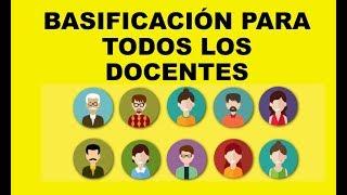 Download Soy Docente: BASIFICACIÓN PARA DOCENTES Y PARA PROMOCIÓN Video