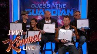 Download The Cast of Guardians of the Galaxy Vol. 2 Plays 'Guess the Guardian' Video
