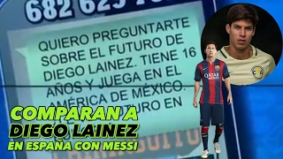 Download DIEGO LAINEZ IMPRESIONA A LA PRENSA ESPAÑOLA | LO COMPARAN CON MESSI | Video