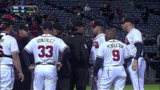 Download 2013/09/25 Benches clear in Atlanta Video
