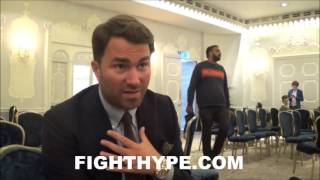 Download EDDIE HEARN REACTS TO CARL FRAMPTON'S WIN OVER LEO SANTA CRUZ; PUSHING FOR REMATCH WITH SCOTT QUIGG Video