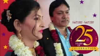 Download 25th Wedding Anniversary (1992-2017) : Saroj & Mawasi Video
