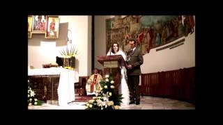 Download Wspólne czytanie Piotra i Marty w czasie ślubu 2009.11.29 Video